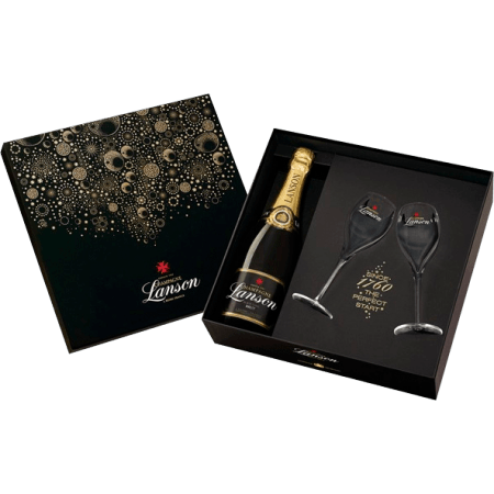 CHAMPAGNE LANSON - COFFRET NEW YORK