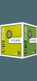 CUBI UBY CUBE BLANC SEC - DOMAINE UBY