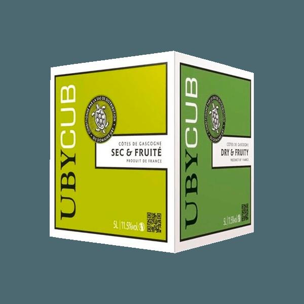 Achetez le cubi blanc sec du domaine uby au meilleur prix for Prix du gravillon blanc