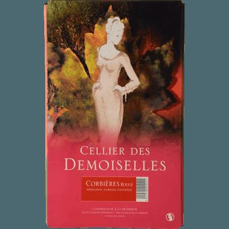 CUBI ROUGE - CELLIER DES DEMOISELLES