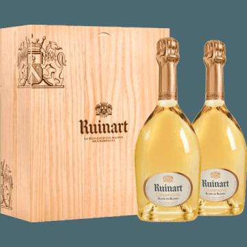 Champagne ruinart coffret duo blanc de blancs au meilleur - Prix champagne ruinart blanc de blanc ...