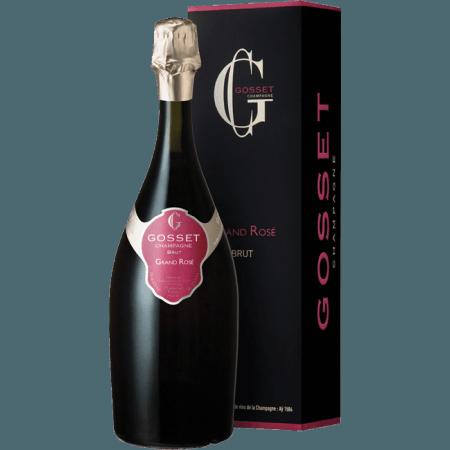 CHAMPAGNE GOSSET - GRAND ROSE - EN ETUI
