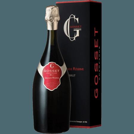 CHAMPAGNE GOSSET - GRANDE RESERVE - EN ETUI