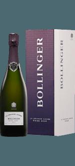 CHAMPAGNE BOLLINGER - LA GRANDE ANNEE ROSE 2005 - EN COFFRET