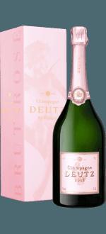 CHAMPAGNE DEUTZ - BRUT ROSE - MAGNUM - EN ETUI