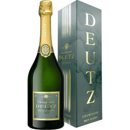 CHAMPAGNE DEUTZ - BRUT CLASSIC - EN ETUI