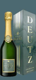 CHAMPAGNE DEUTZ - BRUT CLASSIC - DEMI BOUTEILLE - EN ETUI