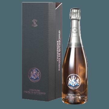 CHAMPAGNE BARONS DE ROTHSCHILD - ROSE - COFFRET PREMIUM