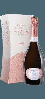 CHAMPAGNE AYALA - BRUT ROSE N°8 - EN ETUI