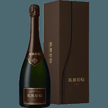 CHAMPAGNE KRUG - VINTAGE 2002 - COFFRET LUXE