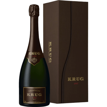 CHAMPAGNE KRUG - VINTAGE 2002 - COFFRET LUXE