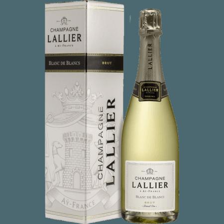 CHAMPAGNE LALLIER - BLANC DE BLANCS GRAND CRU - EN ETUI