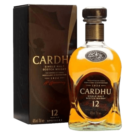 CARDHU SINGLE MALT 12 ANS - EN ETUI