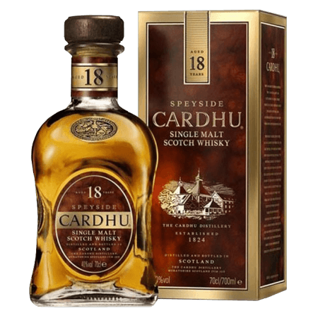 CARDHU 18 ANS - EN ETUI