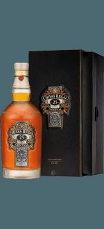 COFFRET CHIVAS REGAL 25 ANS - EN ETUI