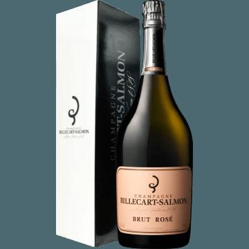 CHAMPAGNE BILLECART SALMON BRUT ROSE - MAGNUM - EN ETUI
