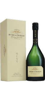 CHAMPAGNE MUMM - MUMM DE CRAMANT - BLANC DE BLANCS - EN COFFRET