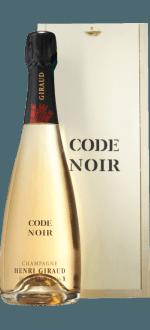 Champagne HENRI GIRAUD - Code noir - En coffret
