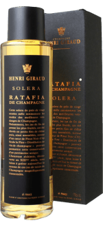 CHAMPAGNE HENRI GIRAUD - SOLERA - RATAFIA DE CHAMPAGNE