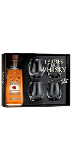 FOUR ROSES SINGLE BARREL + 4 VERRES - EN COFFRET