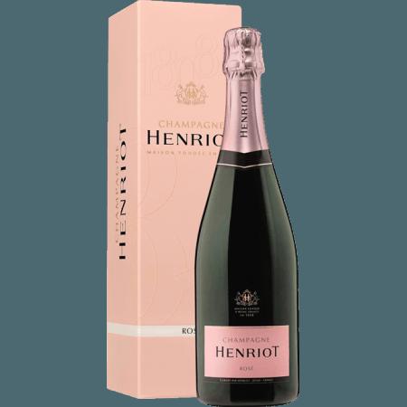 CHAMPAGNE HENRIOT - BRUT ROSE - EN ETUI