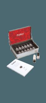 SET 12 AROMES VIN ROUGE + LIVRET - RED WINE ESSENCES SET - PULLTEX