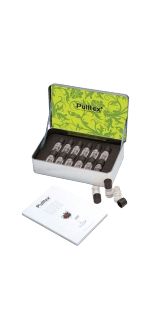 SET 12 AROMES VIN BLANC + LIVRET - WHITE WINE ESSECES SET - PULLTEX