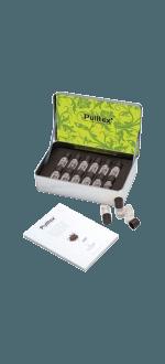 SET 12 AROMES VIN BLANC + LIVRET - WHITE WINE ESSECES SET - PULLTEX