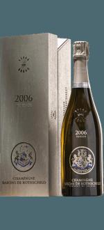 CHAMPAGNE BARONS DE ROTHSCHILD - VINTAGE 2006 - COFFRET PREMIUM