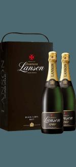 CHAMPAGNE LANSON - COFFRET PARIS