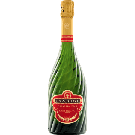 capsule champagne TSARINE Rouge et Or