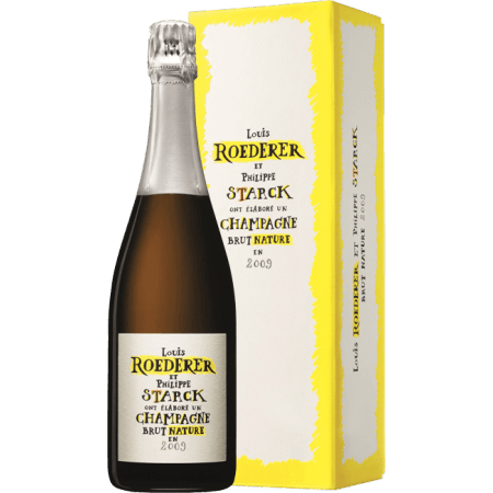 CHAMPAGNE LOUIS ROEDERER - BRUT NATURE 2009 - EN COFFRET