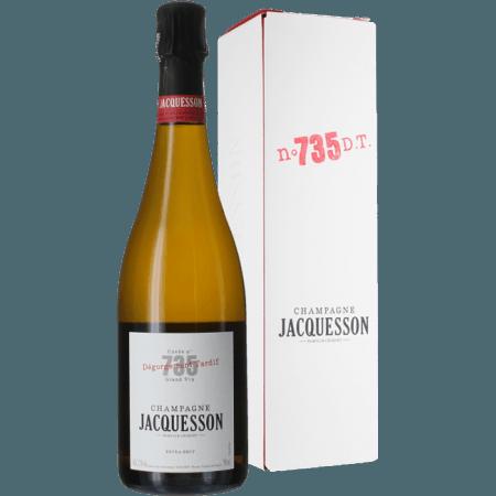 CHAMPAGNE JACQUESSON - CUVEE 735 - EXTRA BRUT - EN ETUI