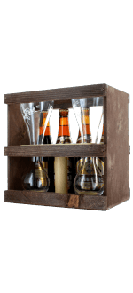 COFFRET KWAK 4X33CL + 1 VERRE DUO - BRASSERIE BOSTEELS