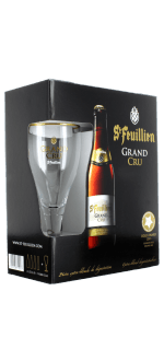 COFFRET SAINT FEUILLIEN GRAND CRU 4X33CL + 1 VERRE - BRASSERIE SAINT FEUILLIEN