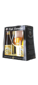 COFFRET TRIPLE KARMELIET 4X33CL + 1 VERRE - BRASSERIE BOSTEELS