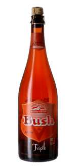 BUSH TRIPLE AMBREE 75CL - BRASSERIE DUBUISSON