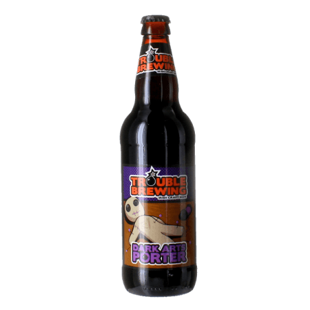 DARK ARTS PORTER 50CL - TROUBLE BREWING