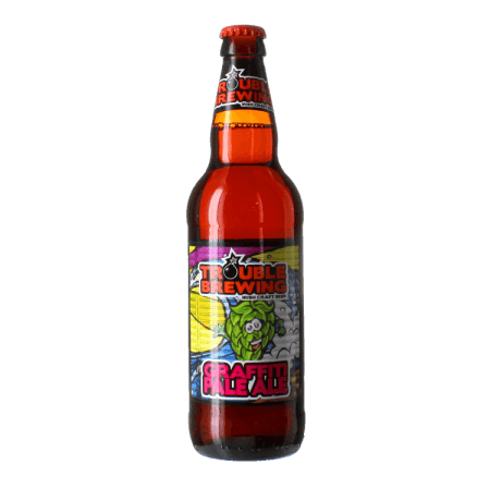 GRAFFITI PALE ALE 50CL - TROUBLE BREWING