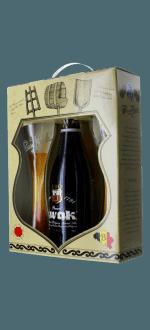 COFFRET KWAK 1X75CL + 2 VERRES - BRASSERIE BOSTEELS