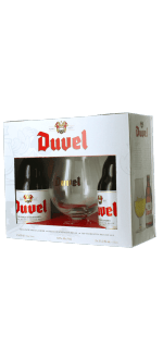 COFFRET DUVEL 2*33CL + 1 VERRE - BRASSERIE DUVEL MOORTGAT
