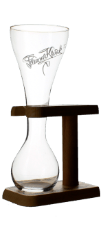 VERRE KWAK + SUPPORT 33CL - BRASSERIE BOSTEELS