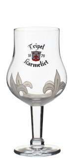 VERRE TRIPLE KARMELIET 25CL - BRASSERIE BOSTEELS