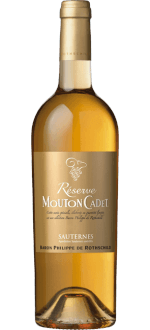 SAUTERNES 2014 - RESERVE MOUTON CADET - BARON PHILIPPE DE ROTHSCHILD