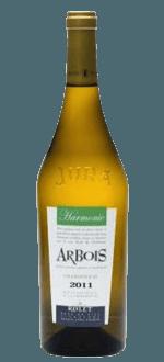 ARBOIS BLANC HARMONIE 2013 - DOMAINE ROLET ET FILS