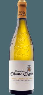 CHATEAUNEUF-DU-PAPE BLANC 2016 - DOMAINE CHANTE CIGALE