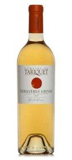 LES DERNIERES GRIVES - PETIT MANSENG 2012 - DOMAINE DU TARIQUET (France - Vin Sud-Ouest - Côtes de Gascogne IGP - Vin Blanc - 0,