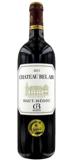 CHATEAU BEL AIR 2011 - CRU BOURGEOIS