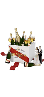 PACK SPECIAL MARIAGE MUMM CORDON ROUGE