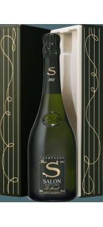 CHAMPAGNE SALON - S 2002 - LE MESNIL - COFFRET LUXE